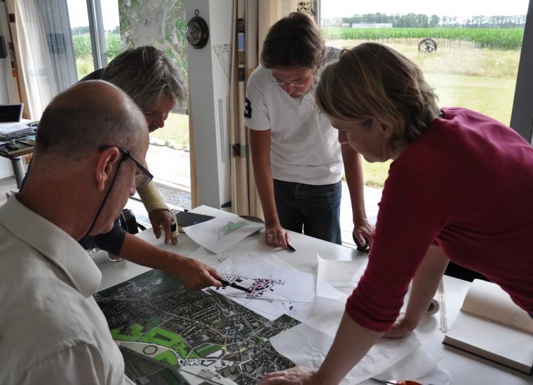 Team Holt& Berg: Jeroen van Westen, Ed Joosting Bunk, Theo Reitsema en Sandra Schuit
