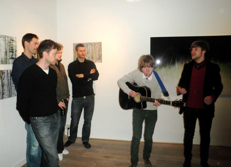 Rens Polman en Koen Brouwer zingen hun protestlied vóór cultuur (zie blog)