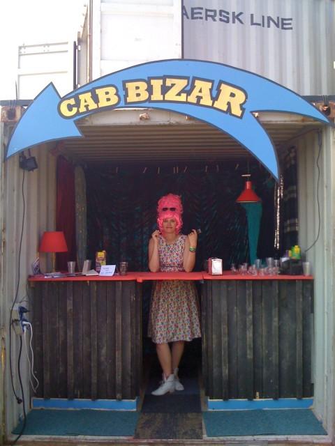 CabBizar op Nachtbrakers terrein in Harderwijk