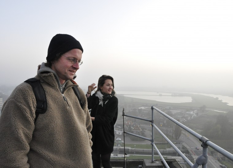 team Andreas Hetfeld en DUS architects (Hedwig Heinsman) kiezen de silo als locatie