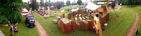 Opbouw Festival Ede